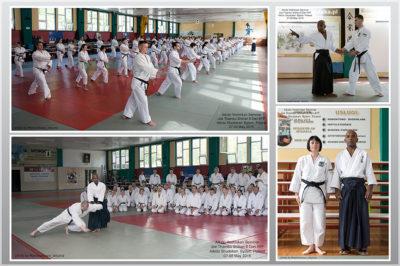 Aikido Yoshinkan Seminar. Joe Thambu Shihan 8 Dan. Dojo Meishinkan.
