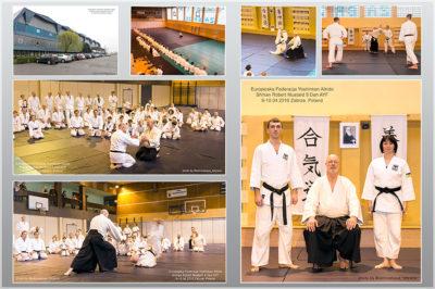 Aikido Yoshinkan Seminar. Pobert Mustard Shihan 8 Dan. Dojo Meishinkan.