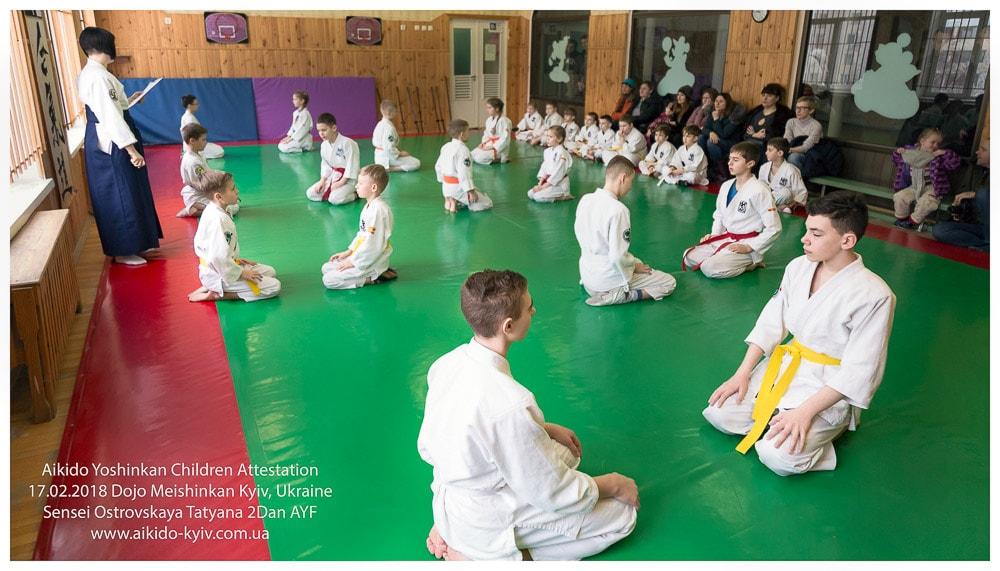 ребенок спорт секция айкидо позняки киев