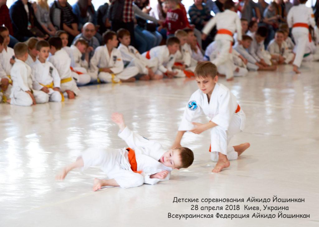 04 айкидо спортивная секция ребенок киев