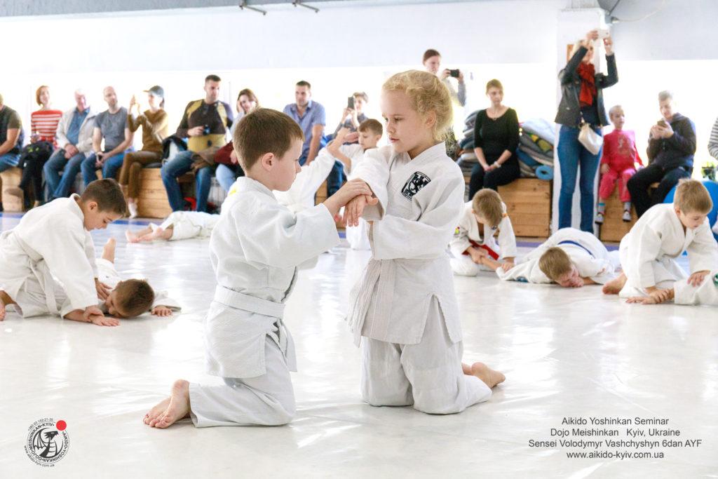 айкидо киев спорт ребенок